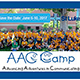 Save the date for the 2017 AAC Camp from June 5-10.