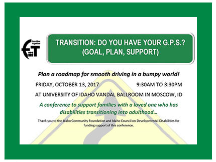 Plan a roadmap for transitioning from high school for your child.