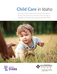 Cover page of 2015 Child Care Workforce Study.