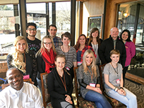 Group photo of 2015 CDHD Interdisciplinary Training Program trainees.