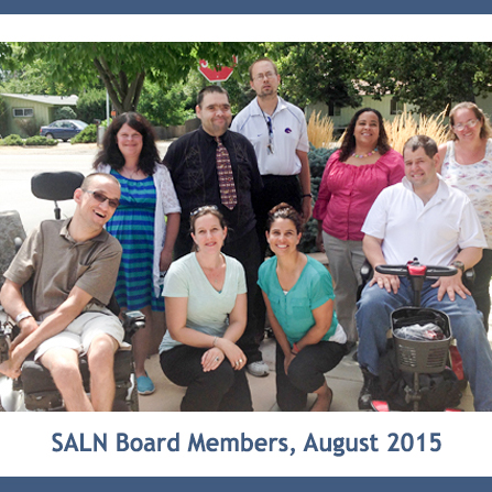 Photo: SALN Board in August 2015.