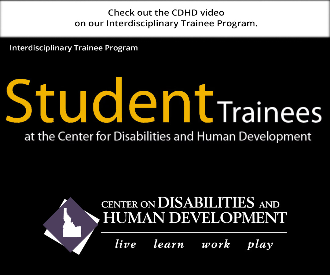 CDHD highlights our Interdisciplinary Training Program in this video.