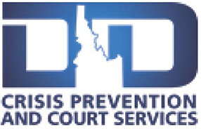 Crisis Prevention and Court Services Logo.