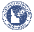 Idaho Department of Education Logo.