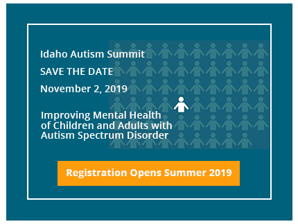 Registration for the November 2, 2019 Autism Summit opens summer 2019.