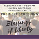 Join us for Blessing of Liberty premiere film screening February 7 at the Idaho State Capitol.