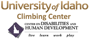Sponsored by UI Climbing Center and UI Center on Disabilities and Human Development