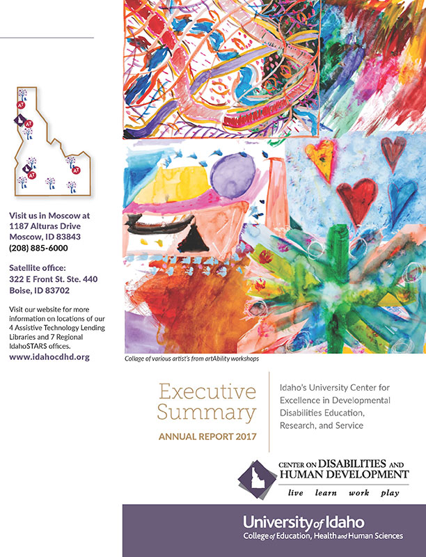 Cover page of 2017 CDHD Executive Summary Annual Report.