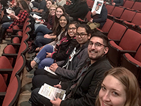 CDHD trainees attending the Temple Grandin lecture.