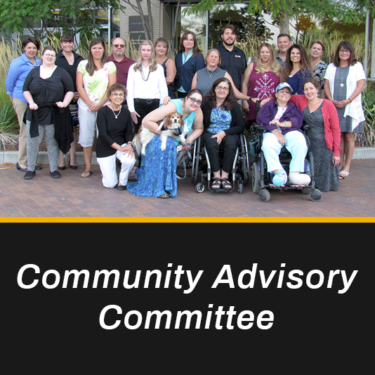 Members of the Community Advisory Committee.