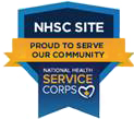 NHSC SITE: Proud to serve our community