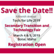 Save the Date for the 15th Annual Tools for Life in 2019.
